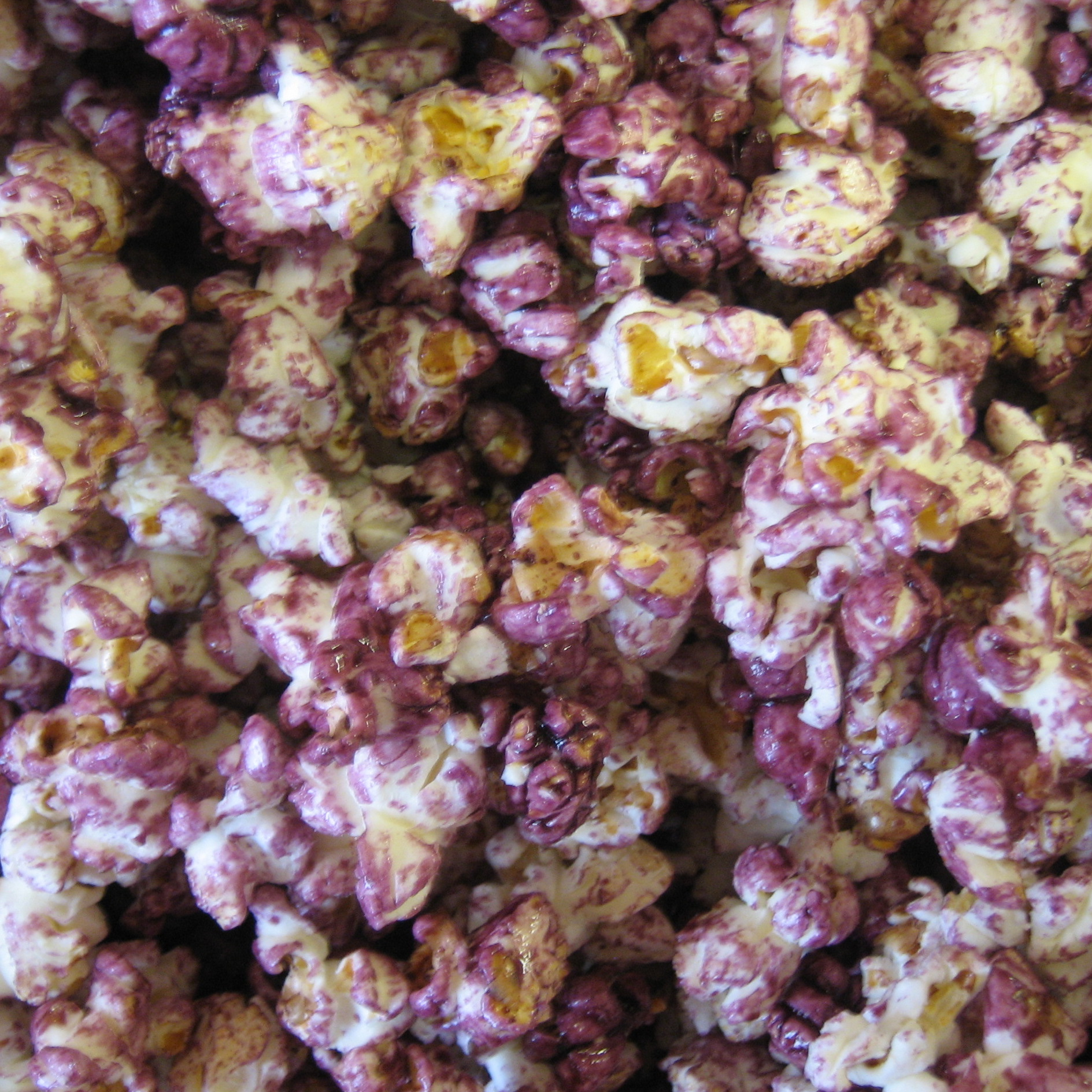 purple kettle corn