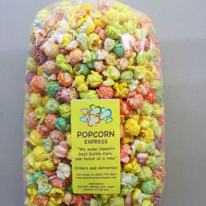 1 quart rainbow kettle corn