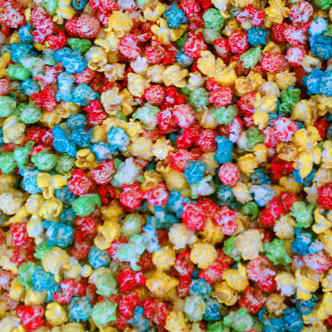 rainbow kettle corn