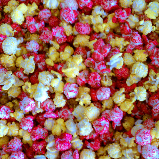 roosevelt colored kettle corn